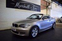 2008 BMW 1 SERIES 2.0 120I SE 2d 168 BHP £6799.00