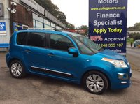 USED 2014 14 CITROEN C3 PICASSO 1.6 PICASSO EXCLUSIVE HDI 5d 91 BHP, only 21000 miles ***GREAT FINANCE DEALS AVAILABLE***