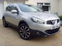 USED 2013 13 NISSAN QASHQAI 1.5 N-TEC PLUS DCI 5d 110 BHP ONE FORMER OWNER F.S.H.