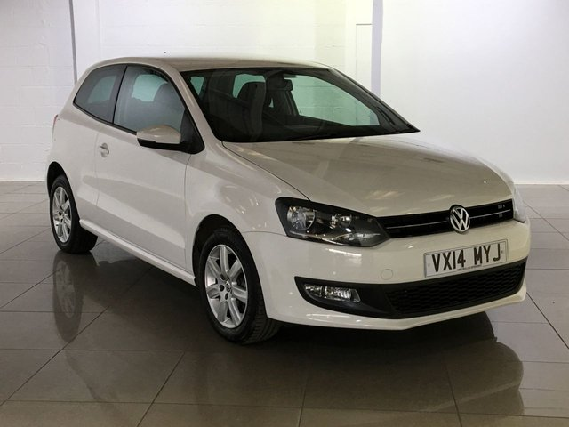 View our 2014 14 VOLKSWAGEN POLO 1.2 MATCH EDITION TDI 3d 74 BHP