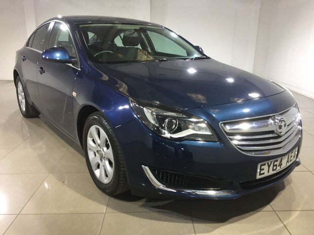 View our 2014 64 VAUXHALL INSIGNIA 2.0 DESIGN NAV CDTI 5d AUTO 160 BHP