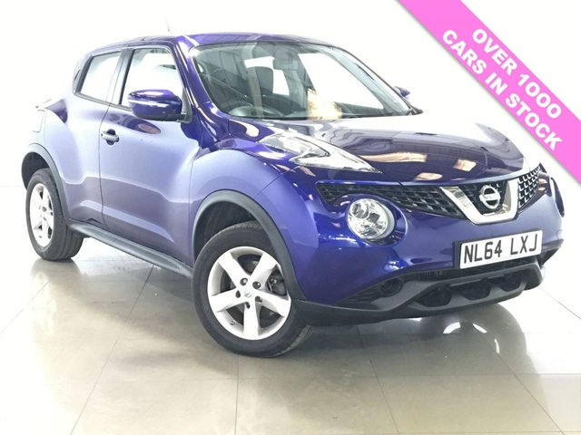 View our 2014 64 NISSAN JUKE 1.5 VISIA DCI 5d 110 BHP