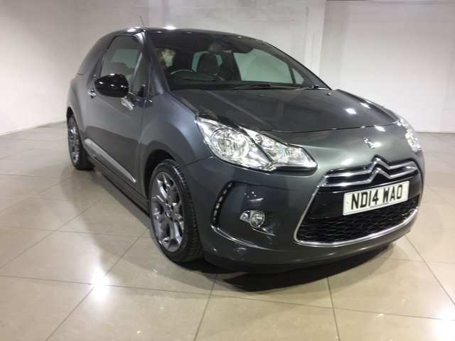 View our 2014 14 CITROEN DS3 1.6 E-HDI DSTYLE PLUS 3d 90 BHP