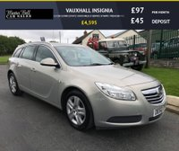 USED 2010 60 VAUXHALL INSIGNIA 1.8 EXCLUSIVE ESTATE 53000 MILES 8 SERVICE STAMPS  FRESH SERVICE