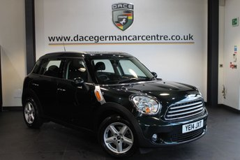 2014 MINI COUNTRYMAN 1.6 COOPER D 5DR PEPPER PACK 112 BHP £9770.00
