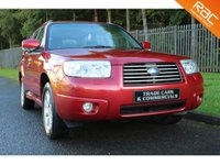 USED 2007 07 SUBARU FORESTER 2.0 XEN 5d 158 BHP A STUNNING FAMILY SIZE 4 WHEEL DRIVE WITH A FULL HISTORY, LEATHER AND SAT NAV!!!