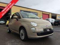 2013 FIAT 500 1.2 LOUNGE 3d 69 BHP £5480.00