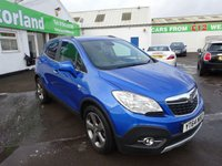 USED 2014 64 VAUXHALL MOKKA 1.7 SE CDTI S/S 5d 128 BHP JUST ARRIVED TEST DRIVE TODAY..FINANCE AVAILABLE