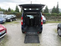 USED 2010 60 FIAT DOBLO 1.4 8V DYNAMIC WHEEL CHAIR ADAPTED WHEELCHAIR ADAPTED VEHICLE REAR WINCH FOUR SEATS