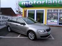 USED 2013 13 SKODA OCTAVIA 1.6 S TDI CR 5d 104 BHP 5 DOOR ESTATE DIESEL LOW TAX