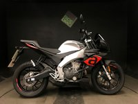 2017 APRILIA TUONO 125. 17. 527 MILES. GREAT SAVING ON NEW £2999.00
