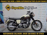 USED 2012 12 TRIUMPH BONNEVILLE T100  ALL TYPES OF CREDIT ACCEPTED  OVER 500 BIKES IN STOCK
