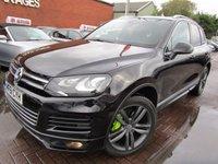 USED 2012 61 VOLKSWAGEN TOUAREG 3.0 V6 ALTITUDE TDI BLUEMOTION TECHNOLOGY 5d AUTO 242 BHP FULL PAN ROOF BIG SAT NAV