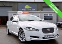 USED 2012 12 JAGUAR XF 2.2 D PREMIUM LUXURY 4d AUTO 190 BHP FULL HEATED LEATHER AND SAT-NAV