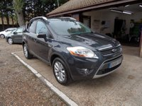 USED 2009 59 FORD KUGA 2.0 TITANIUM TDCI AWD 5d 134 BHP FULL SERVICE HISTORY, 3 KEYS, KEYLESS ENTRY, DAB RADIO, TINTED REAR WINDOWS