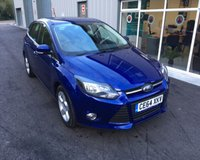USED 2014 64 FORD FOCUS 1.6 ZETEC NAVIGATOR THIS VEHICLE IS AT SITE 1 - TO VIEW CALL US ON 01903 892224