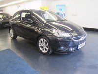 USED 2015 15 VAUXHALL CORSA 1.2 EXCITE AC 3d 69 BHP LOVELY SPEC, HEATED STEERING WHEEL, HEATED SCREEN, BLUETOOTH