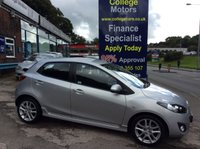 USED 2012 61 MAZDA 2 1.6 D SPORT 5d 94 BHP, only 47000 miles *****FINANCE AVAILABLE APPLY ONLINE******
