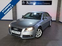 USED 2008 08 AUDI A4 2.7 TDI SE 4d AUTO  Facelift Model, Sat Nav, FULL LEATHER, Low Miles, FULL SERVICE HISTORY