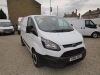 2014 FORD TRANSIT CUSTOM 290 ECONETIC 100PS L1 H1 VAN £10495.00