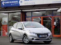 USED 2013 13 PEUGEOT 208 1.2 ACCESS PLUS 3dr *ONLY 9.9% APR*