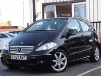 USED 2007 57 MERCEDES-BENZ A CLASS 1.5 A150 AVANTGARDE SE 5d AUTO 94 BHP FULL SERVICE HISTORY 8 STAMPS, LOW MILEAGE, CHEAP AUTO.
