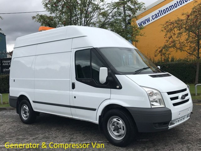 2011 11 FORD TRANSIT 100 T350 MWB Hi/R [ Mobile Workshop+ Compressor ] van XBG Free UK Delivery