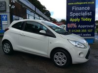 2014 FORD KA 1.2 EDGE 3d 69 BHP, only 18000 miles £5495.00