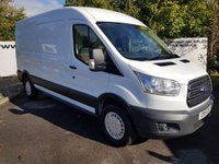 2014 FORD TRANSIT 350 2.2 125 BHP TREND L3 H2 RWD CHOICE OF 70 VANS £9750.00