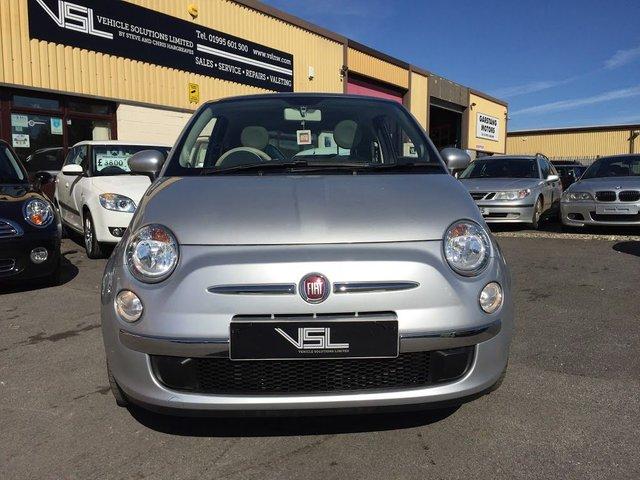 2011 11 FIAT 500 1.2 LOUNGE 3d 69 BHP