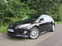 USED 2014 63 FORD FOCUS 1.6 ZETEC S TDCI 5d 113 BHP