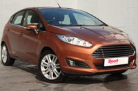 USED 2015 15 FORD FIESTA 1.6 ZETEC 5d AUTO 104 BHP ECONOMICAL AUTO + FULL SERVICE HISTORY