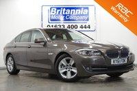 2011 BMW 5 SERIES 2.0 520D DIESEL EFFICIENTDYNAMICS 4d 181 BHP £10990.00