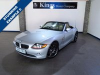 USED 2005 55 BMW Z4 2.0 Z4 SE ROADSTER 2dr Full Leather, Full Service History , Met Grey Sparkling Graphite Alloys