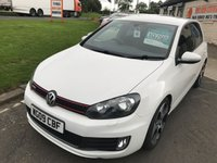 2009 VOLKSWAGEN GOLF 2.0 GTI 5d 210 BHP CANDY WHITE FULLY LOADED FSH 59000 MILES  £10795.00