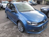 USED 2013 13 VOLKSWAGEN POLO 1.4 BLUEGT 3d 140 BHP REALLY SMART & GREAT SPEC