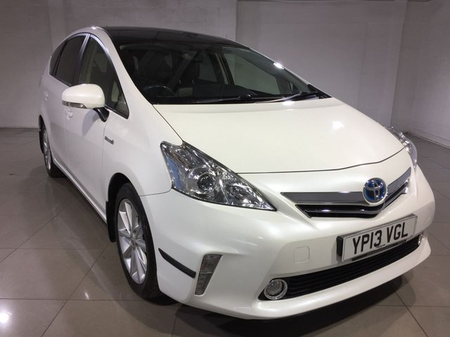 View our 2013 13 TOYOTA PRIUS PLUS 1.8 T SPIRIT 5d AUTO 99 BHP