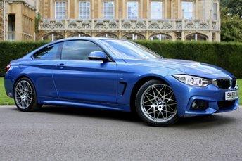2015 BMW 4 SERIES 3.0 430D M SPORT 2d AUTO 255 BHP £22990.00