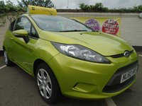 USED 2010 60 FORD FIESTA 1.2 EDGE 3d 81 BHP GUARANTEED TO BEAT ANY 'WE BUY ANY CAR' VALUATION ON YOUR PART EXCHANGE