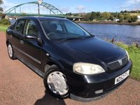 USED 2002 52 VAUXHALL ASTRA 1.6 CLUB 8V 5d 85 BHP **UNWANTED PART EXCHANGE** SOLD AS SEEN