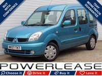 USED 2007 07 RENAULT KANGOO 1.5 EXPRESSION DCI 5d 84 BHP BLACK FRIDAY WEEKEND EVENT/ 1 OWNER, FULL SERVICE HISTORY
