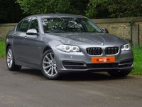 USED 2014 64 BMW 5 SERIES 2.0 520I SE 4dr AUTO FSH SATNAV HEATED SEATS VGC