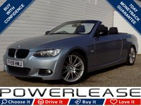 USED 2009 59 BMW 3 SERIES 2.0 320D M SPORT 2d AUTO 175 BHP BLACK FRIDAY WEEKEND EVENT, XENONS FSH CRUISE CONTROL AUX IN