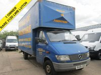 USED 1998 R MERCEDES-BENZ SPRINTER 2.9 312D LWB LUTON BOX. BIG ENGINE RARE. LARGE EXTRA HIGH BODY 1 OWNER FROM NEW. RARE MERCEDES. PX WELCOME