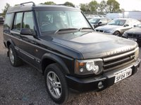 USED 2004 04 LAND ROVER DISCOVERY 2.5 LANDMARK TD5 5d AUTO 136 BHP Top spec 7 seater - Leather