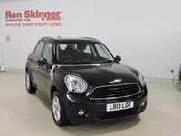 USED 2013 13 MINI COUNTRYMAN 1.6 ONE 5d AUTO 98 BHP with Pepper Pack with Pepper Pack