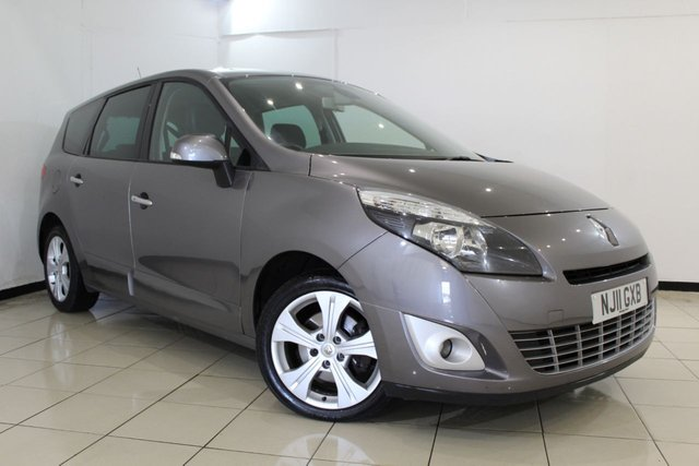 View our 2011 11 RENAULT GRAND SCENIC 1.5 DYNAMIQUE TOMTOM DCI 5DR 110 BHP