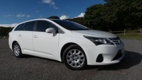 USED 2013 63 TOYOTA AVENSIS 2.0 D-4D ACTIVE 5d 124 BHP