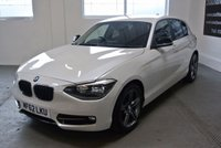 USED 2012 62 BMW 1 SERIES 2.0 116D SPORT 5d 114 BHP