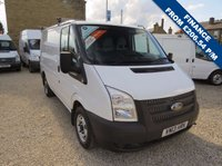 USED 2013 13 FORD TRANSIT 100T 260 2.2TDCi SWB LOW ROOF VAN ONE OWNER - FDSH - ONLY 63000m